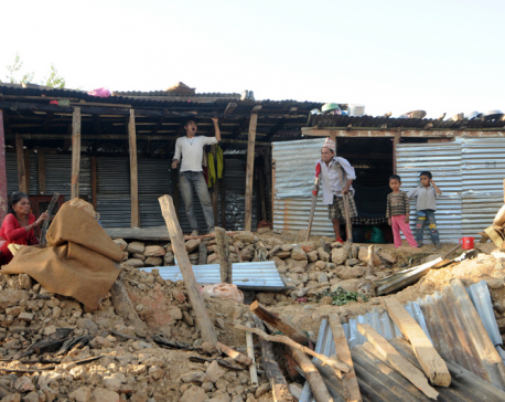 Elderly, children, disabled, women in the quake-hit districts still at risk: NHRC