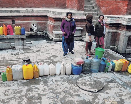 Acute lack of water supply punishing the public