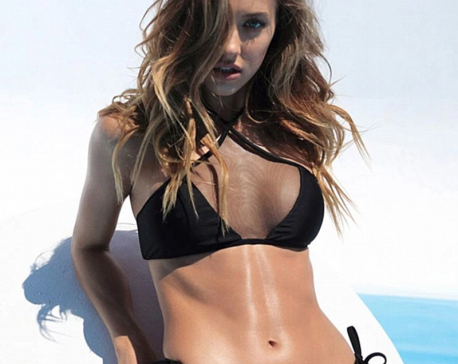 Model Jessica Serfaty shows off her incredible figure in a sexy swimwear shoot