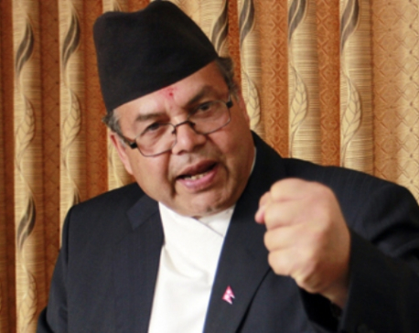 Protest against temporary capitals not appropriate: UML leader Khanal