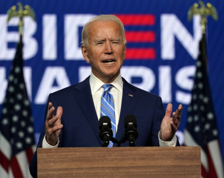 China congratulates Biden on being elected US president