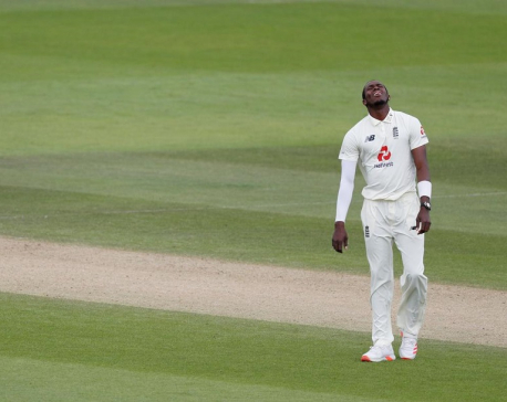 England's Archer fined, warned for bio-secure protocol breach