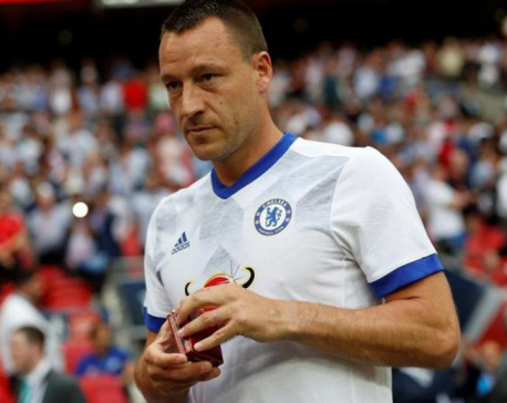 Former Chelsea captain Terry joins Aston Villa