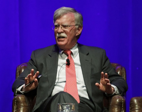 Bolton: Trump moves in office guided by reelection concerns