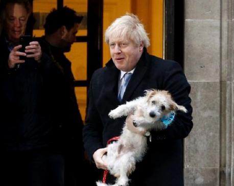 UK on track for Brexit as election landslide looms for Johnson