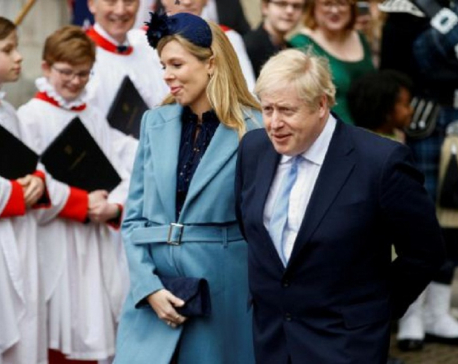 It's a boy: British PM Johnson and fiancee 'thrilled' by birth of a son