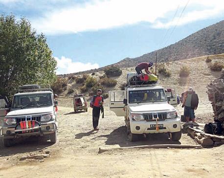 Process underway to upgrade Jomsom-Korala road