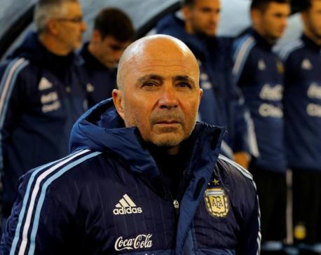 Sampaoli has winning start for Argentina