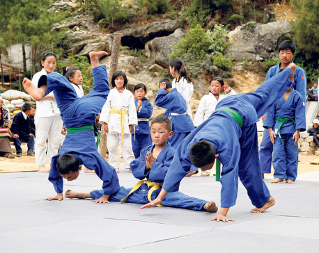 Judo makes a breakthrough in inaccessible Everest region