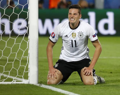 Germany midfielder Draxler joins PSG from Wolfsburg