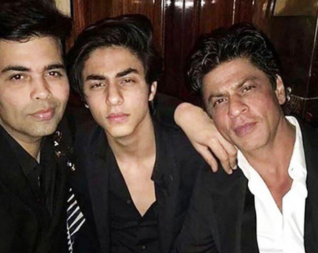 KJo wants to launch SRK's son Aryan