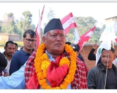 NC's Bhadel becomes provincial assembly member in Bhaktapur-1 (a)