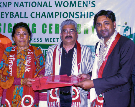 Shivam, KNP deal for nat'l women's volleyball