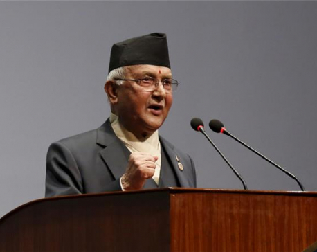 Oli bats for ending transition before amending constitution