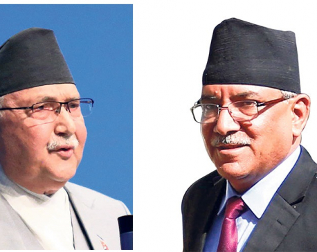 PM Oli accuses Dahal of investing in media to erode credibility of party leadership