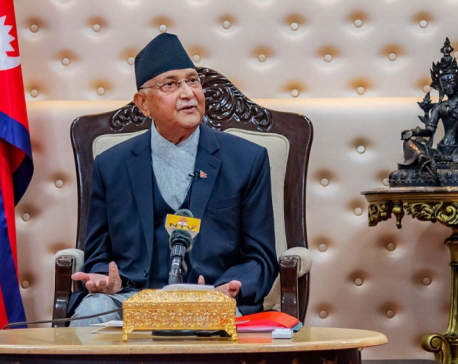 We will restart economic activities once the situation is under control: PM Oli