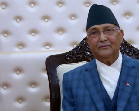 PM Oli calls for lighting lamps today (with video)
