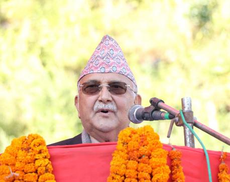 Party started moving smoothly after two rusty nuts and bolts got loosened and dropped: PM Oli