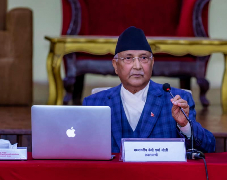 """No one remains hungry, and no one dies of hunger,"" reiterates PM Oli"
