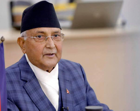PM Oli confident of Nepal meeting SDGs before 2030