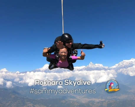 Pokhara Skydiving-2019 takes off in Pokhara