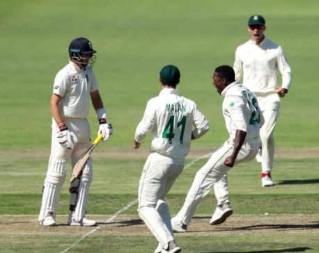 Rabada handed test ban after screaming send-off for England's Root
