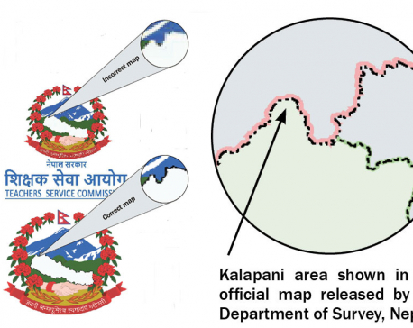 Govt websites using faulty map of Nepal despite ire over Indian version