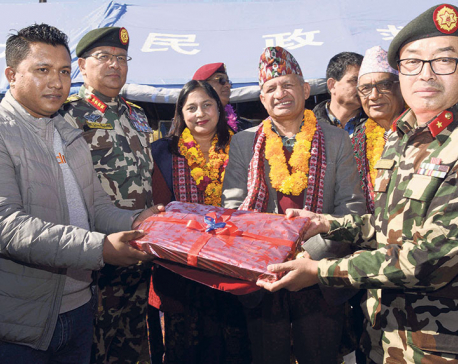 Army hands over 30 km stretch of Kali Gandaki Corridor road to govt