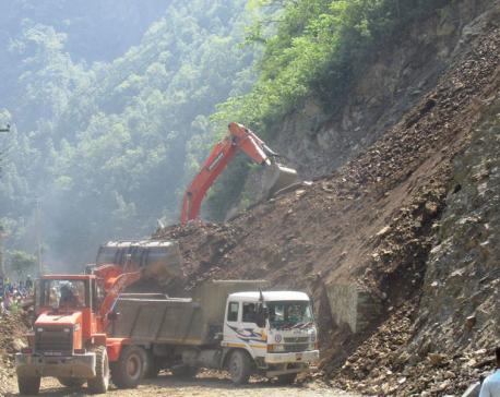 2 police killed, 2 missing as landslide hits van, truck