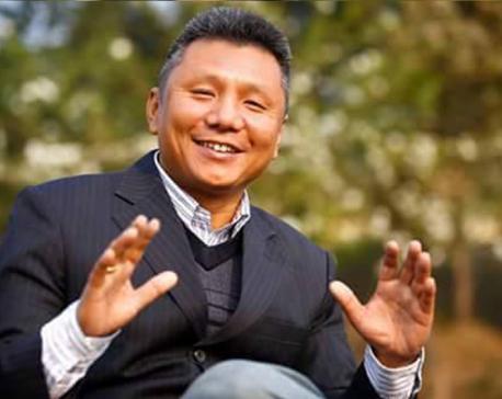 Kalyan Gurung announces his candidacy for NC prez