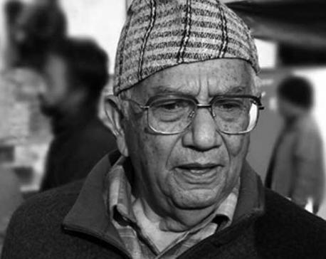 Veteran litterateur Kamal Mani Dixit no more