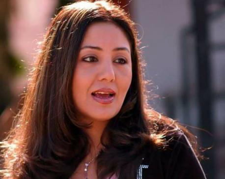 Actress Manadhar misses voting