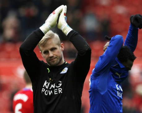 Honors even at the Riverside stadium as Leicester continues to upset Ranieri
