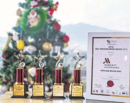 Kathmandu Marriott Hotel bags five awards