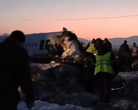 Passenger plane crashes in Kazakhstan killing at least 9