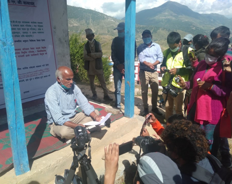 Dr KC starts 19th hunger strike in Jumla