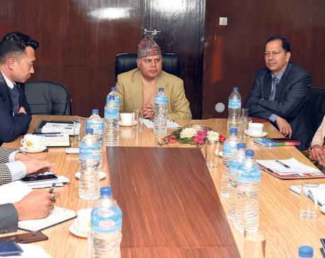 Kedar Adhikari assumes office at NAC