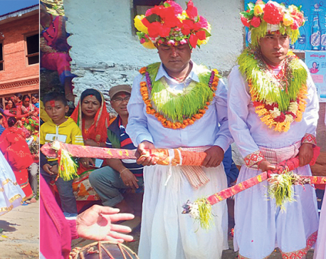 Khadgajatra celebrated amid dwindling crowd in Dolakha