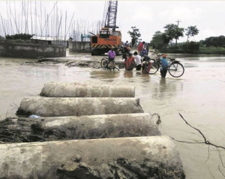 Fear of floods looms large for locals of Saptari