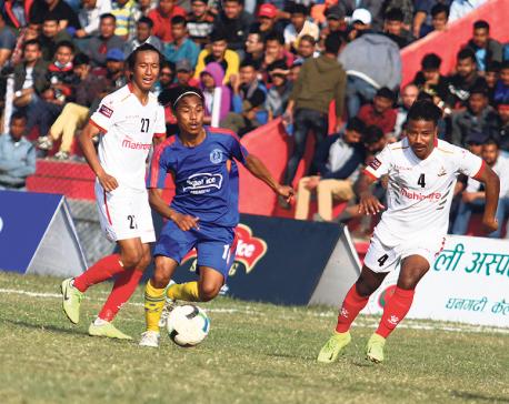 Thakuri brace sends Sudur Paschim into its first final