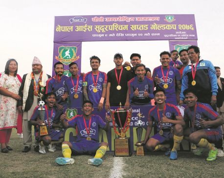 Sudur Paschim wins first Khaptad title