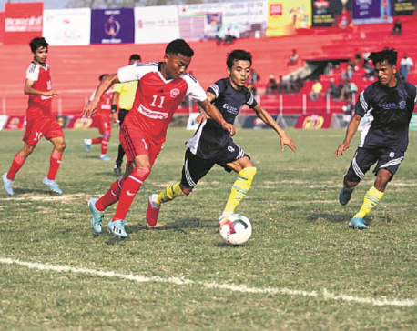 Gorkha Boys into Khaptad Gold Cup quarters
