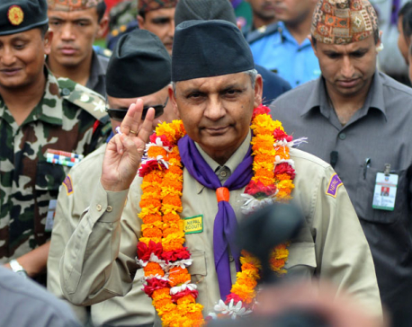 Regmi honored with Asia's Dignitary Man of the Year