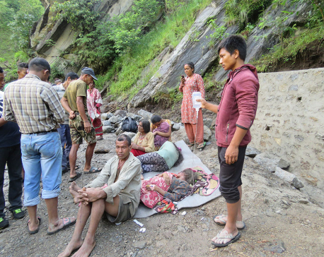 Death toll in  Ramechhap landslide climbs to 2 (with photos)