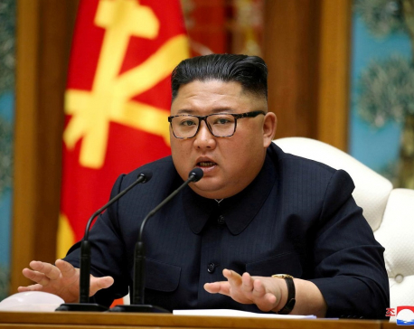 North Korea's Kim marks war anniversary amid virus concerns