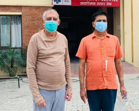 NC General Secretary Koirala discharged from Om Hospital