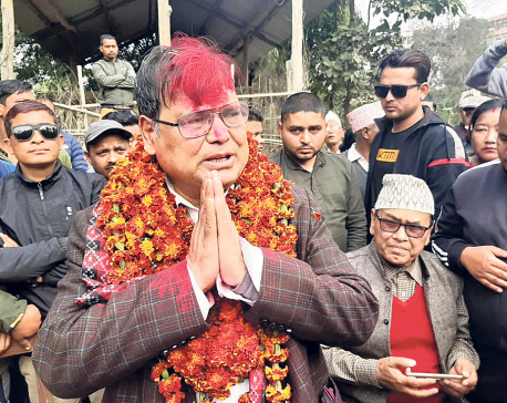 Mahara is garlanded every day, but he looks sad and in pain