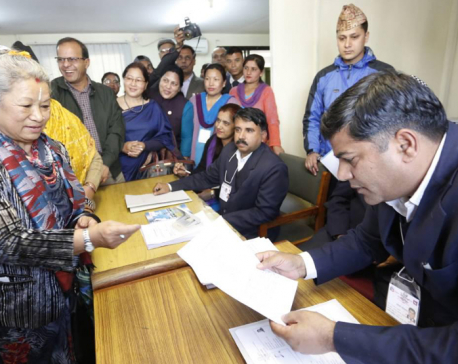 Kumari Laxmi Rai files candidacy for Prez from NC
