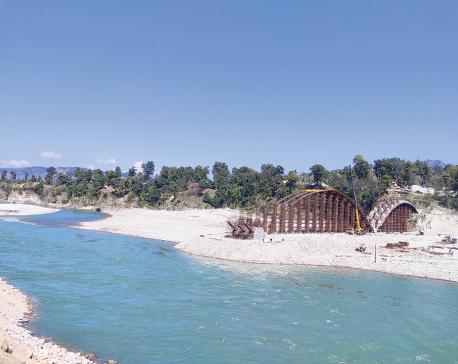 Construction of Kuine bridge gains momentum