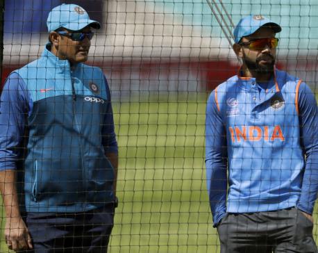 Kumble leaves as India cricket coach amid rift with Kohli